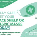 Get your face shield or fabric masks today!