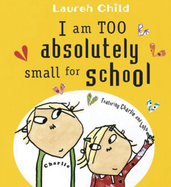 I Am Too Absolutely Small For School (Anxiety) $12.95
