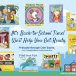 Nine books to help you get ready for school!