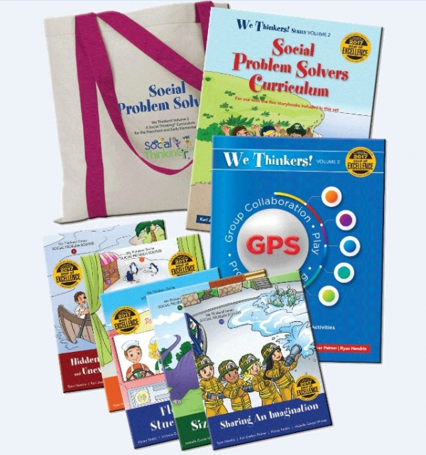 We Thinkers! Volume 2: Social Problem Solvers Deluxe Package
