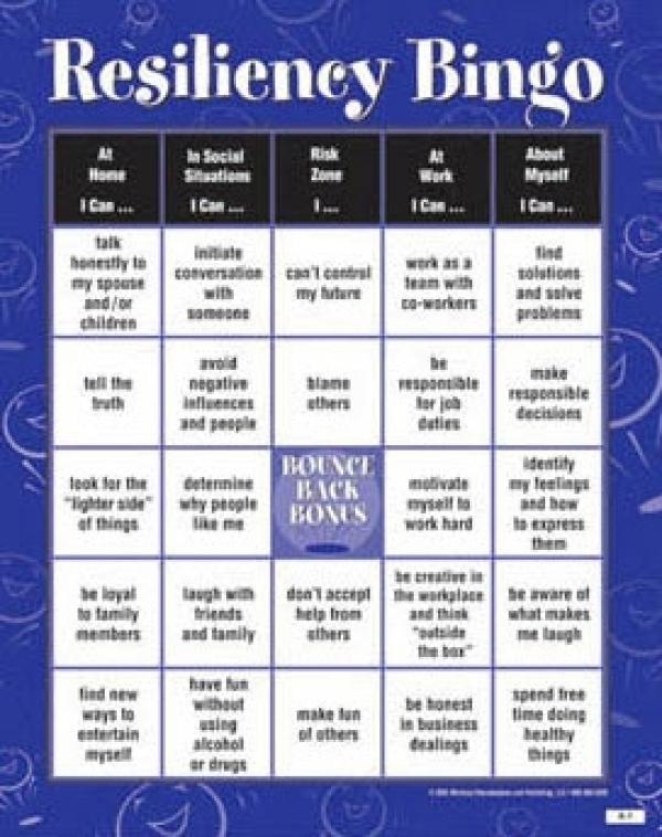Social Skills Bingo Book Covers