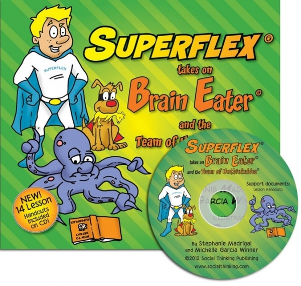 Superflex Takes On Brain Eater (Social Thinking) (Includes CD)